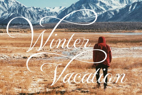 2015 WINTER VACATION